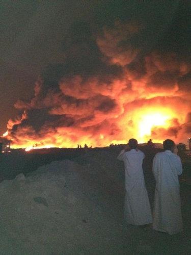 クウェートのタイヤ廃棄09