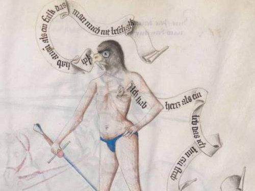 中世の本の挿絵10