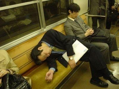 眠たい日本人07