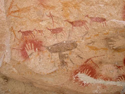 ラス・マノス洞窟の手形05