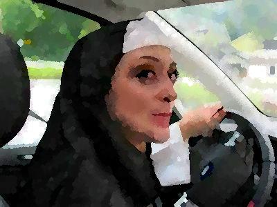 修道女がスピード違反