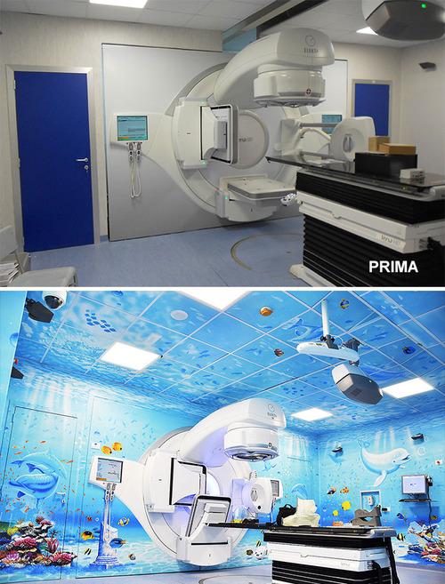 病院をペイント01