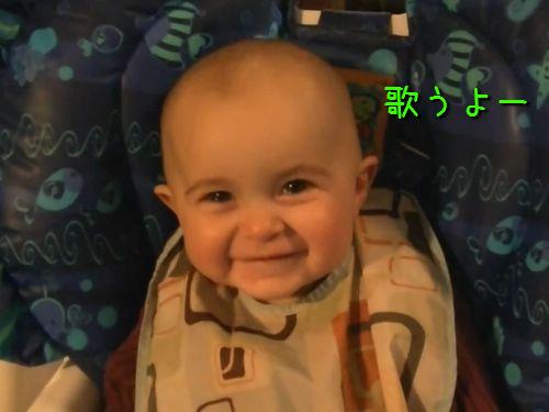 子守唄に号泣する赤ちゃん00