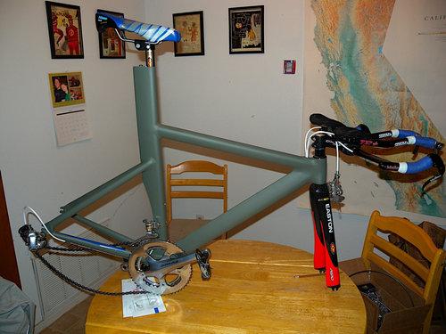 妻のために自転車を作った29