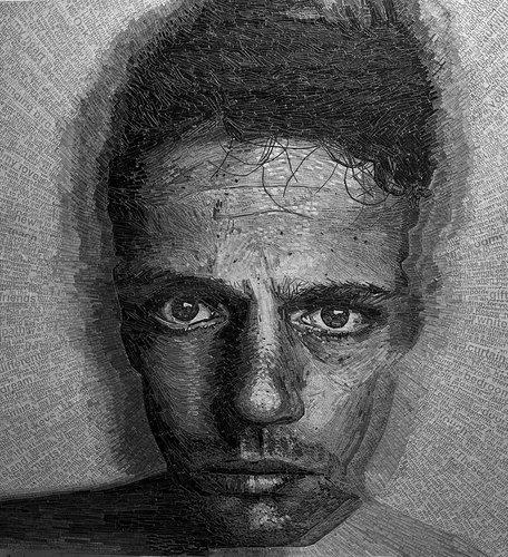 ラブレターで肖像画01