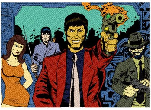 アメコミ作者が日本の漫画キャラクターを描いたら05