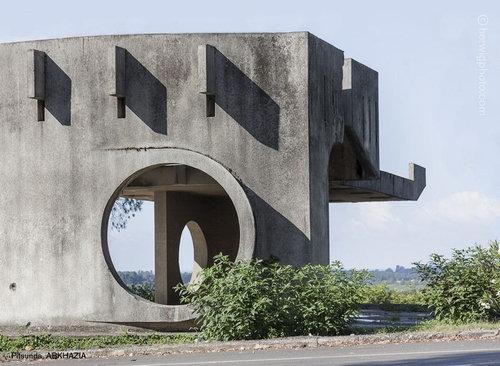 ソ連のバス停07