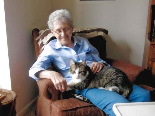 おばあちゃんと猫、同日に天国へ召される00