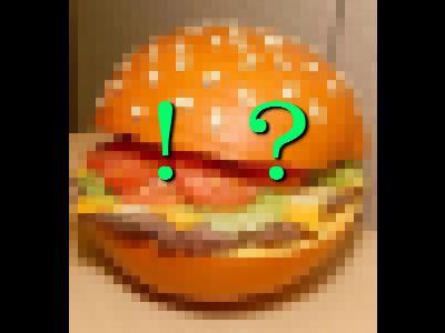 謎のハンバーガー00