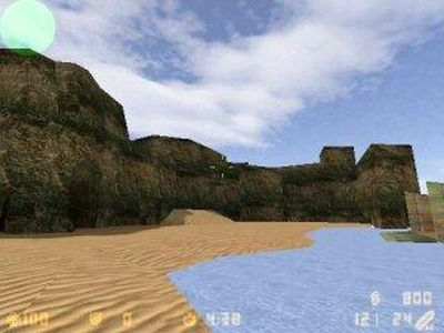 1998: Wasser in Half-Life 1 (dt.), hier Counter-Strike (PC)