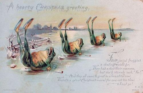 19世紀のクリスマスカード00