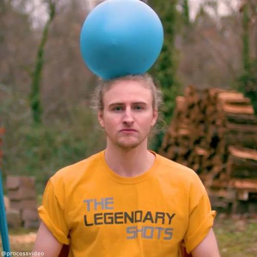 水風船が帽子みたいに02