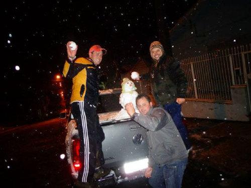 ブラジルに30年ぶりの雪14