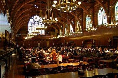 ハーバード大学の食堂04