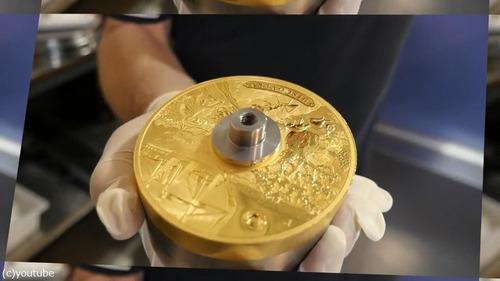 オーストラリアが2億円の金貨を鋳造01