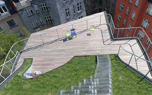 デンマークの屋根の上の遊び場12