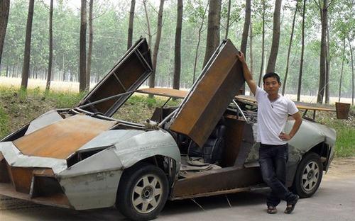 無理やりスポーツカー01