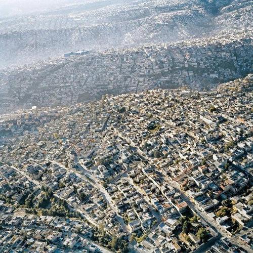 上空から見た都市17