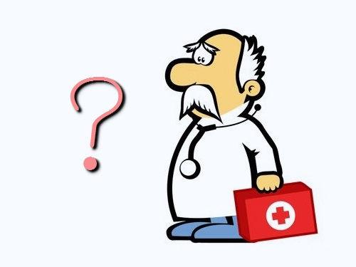 医者に質問