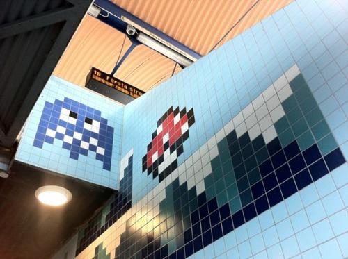 ストックホルムの駅が8bitゲーム風09