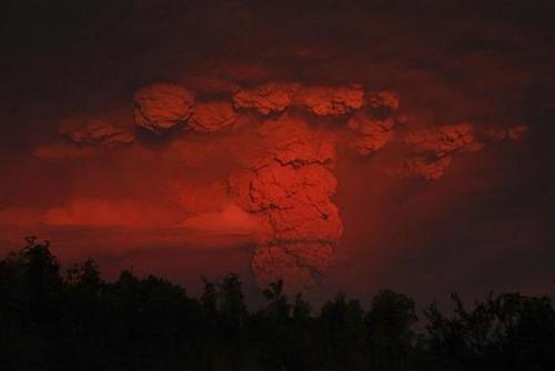 チリのプジェウエ火山08