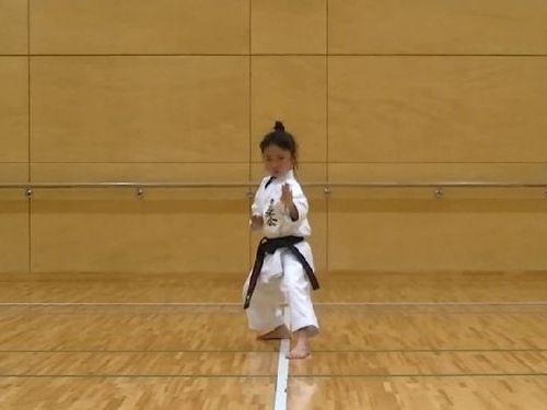 7歳空手少女03