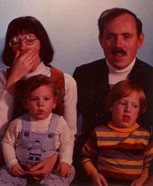 家族写真は大変14