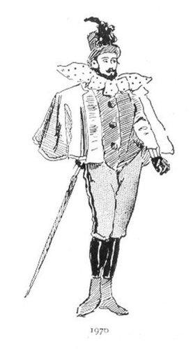 19世紀に想像した20世紀のファッション18