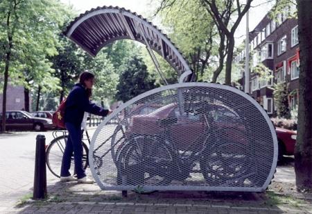 自転車置き場11