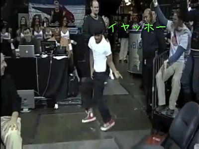 ダンス少年