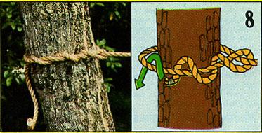 ロープの結び方08