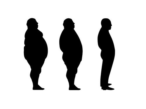 医者に肥満