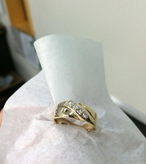 結婚指輪の修復16