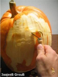 かぼちゃ彫刻01