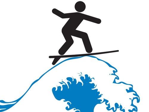 本当のサーフィンの写真00