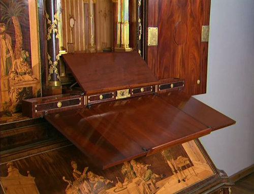 200年前のアンティーク机08