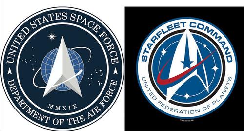 宇宙軍のロゴが「スタートレック」に酷似02
