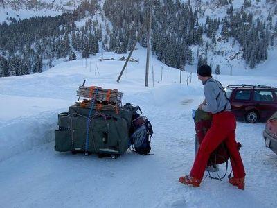 雪山の頂でお風呂01