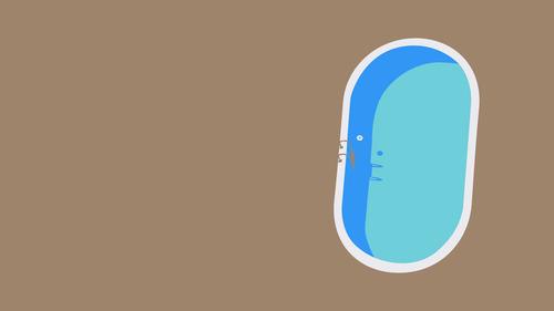 洪水に襲われた日のスイミングプール03
