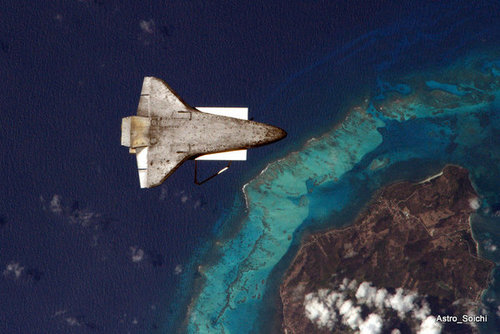 スペースシャトルの裏側01