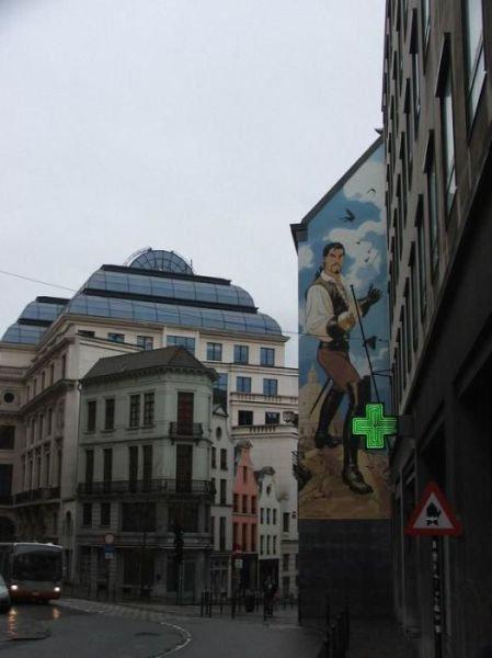 ベルギー・ブリュッセルに描かれたコミックス・グラフィティ34