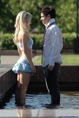 噴水でずぶ濡れロシアの美少女06