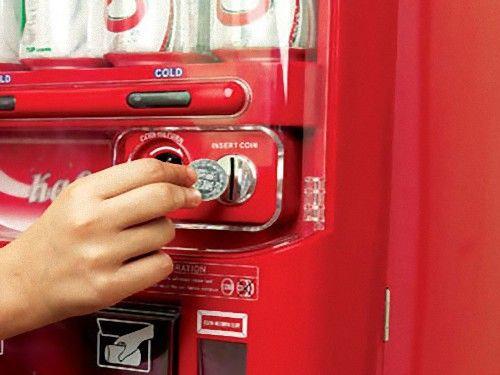 自販機でコーラを買ったら白クマ00