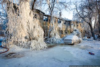 氷点下20度の火事消火01