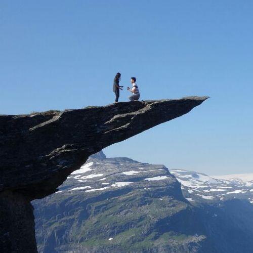 ノルウェーでプロポーズ02