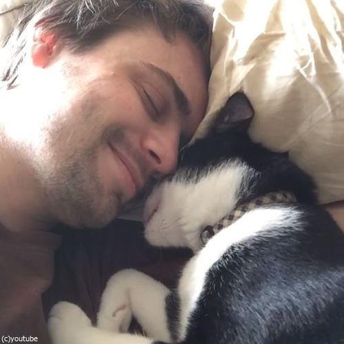 猫に起こされる朝03
