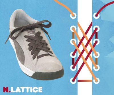 靴ひも・結び方14