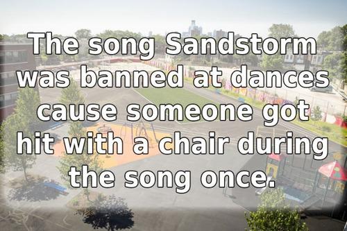 学校で禁止されたありえないルール20