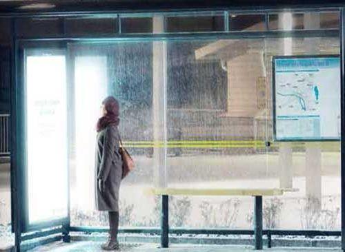 うつ病に効くバス停01