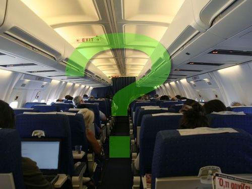 飛行機の座席表00